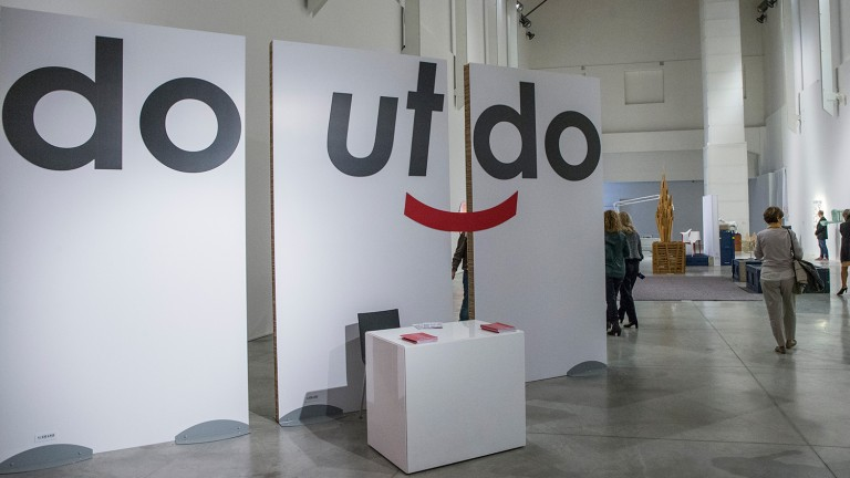 Mostra do ut do 2014 al MAMbo, Bologna