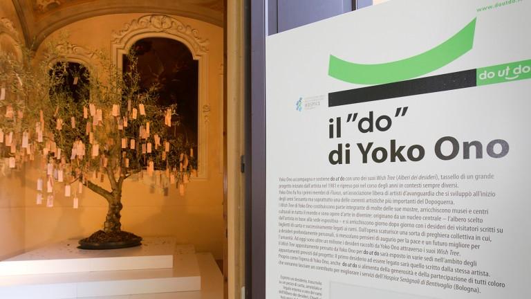 Il Wish Tree di do ut do 2012, Spazio Carbonesi, Palazzo Zambeccari, Bologna