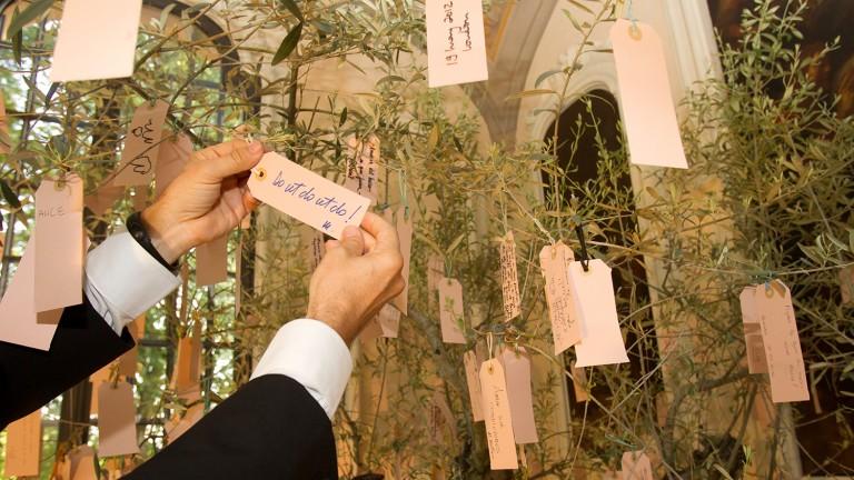I Wish dell'albero di do ut do 2012, Spazio Carbonesi, Palazzo Zambeccari, Bologna